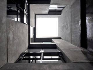 PATIO INTERNO: Estudios y oficinas de estilo moderno por Ramiro Zubeldia Arquitecto