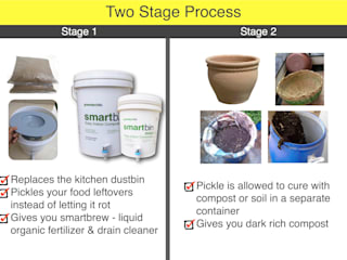 Smartbin- Two Stage Process :   by GreenTech Life