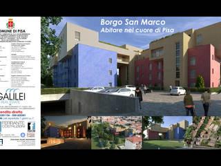 Borgo San Marco - Pisa faserem srl Case moderne Cemento Variopinto