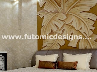 Premium Home Interiors Modern style bedroom by Futomic Design Services Pvt. Ltd. Modern