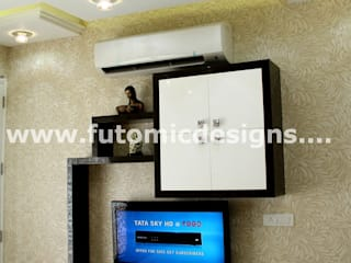 Premium Home Interiors: modern  by Futomic Design Services Pvt. Ltd.,Modern