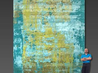 DESIGNTEPPICH PROJECT ERROR 300 x 250 cm: modern  von Art Oriental Teppiche-Möbel-Antiquitäten Handelsgesellschaft mbH,Modern