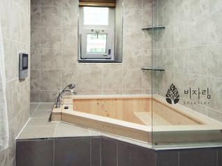 [休] 가족을 위한 자연같은 집 스칸디나비아 욕실 by 비자림인테리어 북유럽