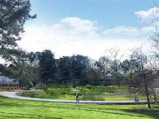 Réaménagement des jardins de l'Abbaye de Daoulas: Jardin de style  par A3 Paysage Brest