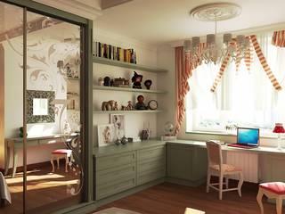 Дизайн-проект «Добрая старая классика»: Детские комнаты в . Автор – Дизайн-бюро «Линия стиля»