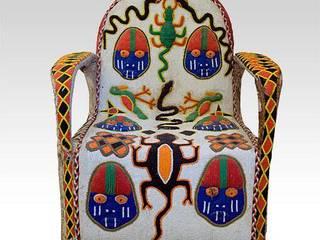 Chaises en perle par ALAMDOU ARTS & DECORATIONS Industriel