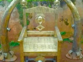 Chaises en bronze par ALAMDOU ARTS & DECORATIONS Industriel