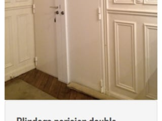 Porte blindée Parisien Fenêtres & Portes classiques par Serrurier Paris Express Classique