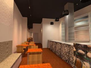 Barra de Entrada: Casas de estilo  por Profesionales Especialistas
