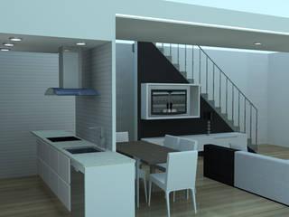 Proyectos virtuales: Comedores de estilo  de Tu Casa Home Staging