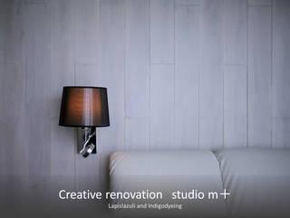 studio m+ by masato fujii Modern style bedroom
