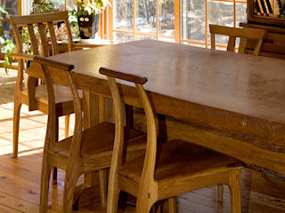 ダイニングテーブル の 木工房ばおばぶ