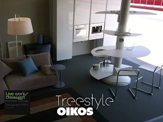 Designer1995 MODELLO TREESTYLE - Oikos cucine:  in stile  di Designer1995  Live Work Design