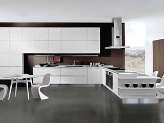 Designer1995  MODELLO TOUCH - Oikos cucine: Cucina in stile  di Designer1995  Live Work Design