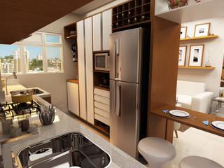 Cuisine de style  par Juliana Zanetti Arquitetura e Interiores