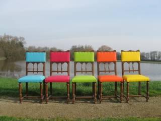 Réfection de 5 chaises Henri II par Ameubl'in