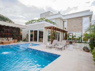 Casas modernas de Heloisa Titan Arquitetura Moderno