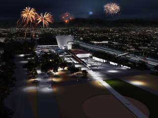 Proyecto de Título José Jara - Espacio Cultural San Ramón de NB Render Arquitectura