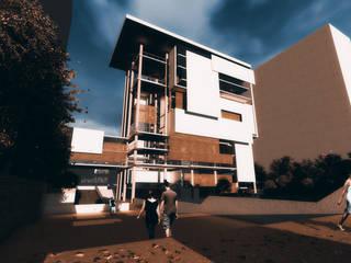 Edificio Oficinas / Proyecto Arquitectura Taller V / Estudiante Nadim Becerra de NB Render Arquitectura