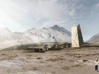 "Proyecto de Título Nadim Becerra / ""Termas Lodge Valle de Colina"" de NB Render Arquitectura"