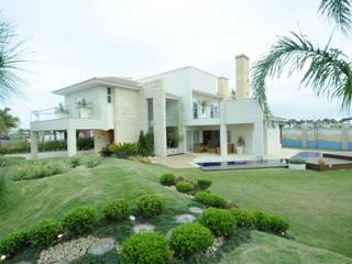 Casa Atlântida Ilhas Park Casas modernas por João Linck | Arquitetura Moderno