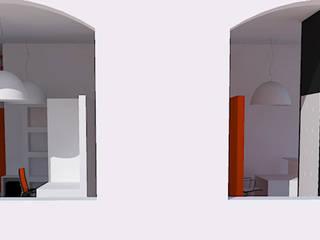 UFFICIO ONE and BUY di ALESSANDRO MAGRIN ARCHITETTO Moderno