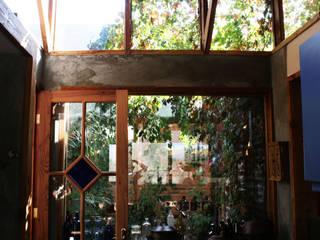 Jardín de Invierno Jardines de invierno de estilo rural de ALIWEN arquitectura & construcción sustentable - Santiago Rural