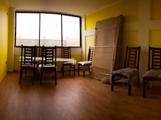 Leonardo Saavedra ONG Vivienda Local Modern dining room