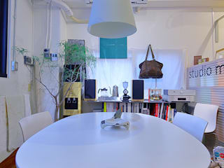 studio m+ by masato fujii Eclectic style offices & stores