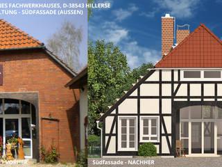Fachwerkhaus Hillerse - Südfassade (aussen):   von GID│GOLDMANN - Innenarchitekt in Sehnde