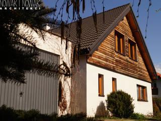 現代房屋設計點子、靈感 & 圖片 根據 Nowak i Nowak Architekci 現代風