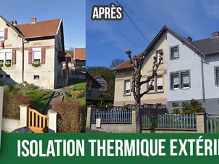 Rénovation de façade par l'isolation extérieure par RAVAL'EST