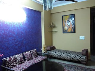 Interior painting:  Living room by Abdul Bros