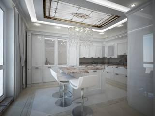 """RBI ЖК """"Александрия"""" Кухня в классическом стиле от Лаборатория Дизайна Классический"""