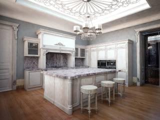 Квартира сердце Санкт-Петербурга Кухня в классическом стиле от Лаборатория Дизайна Классический