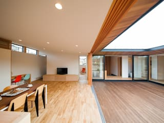 Dining Room: STaD(株式会社鈴木貴博建築設計事務所)が手掛けたリビングです。