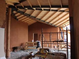 Ampliación y Remodelación de Casa Castillo Hepp en El Huape por ALIWEN Livings de estilo de ALIWEN arquitectura & construcción sustentable - Santiago Rural