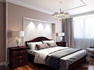 Camera da letto in stile classico di Студия интерьера 'SENSE' Classico
