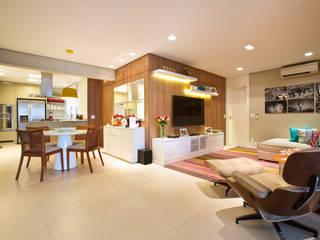Marcelo Bicudo Arquitetura Modern living room