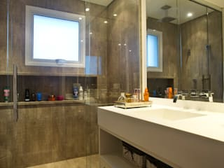 Marcelo Bicudo Arquitetura Modern bathroom