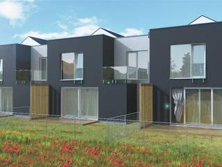 TYCHY DERKACZY Minimalistyczne domy od wytwornia tychy Minimalistyczny