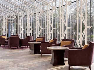 Doubletree by Hilton Nottingham - Gateway od Rethink Interiors Ltd Nowoczesny