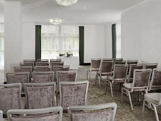 Doubletree by Hilton Nottingham - Gateway Moderne Hotels von Rethink Interiors Ltd Modern