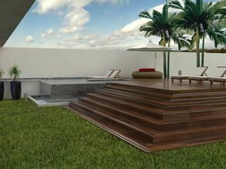 THAYANA NIEBISCH ARQUITETURA E INTERIORES Casas de estilo moderno