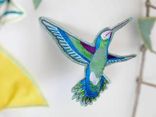 Vitis (détail):  de style  par Millie Baudequin Créations textiles