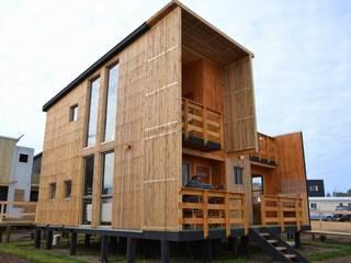 EstradaMassera Arquitectura Modern Evler Ahşap Ahşap rengi