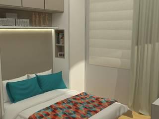 Kamar Tidur Modern Oleh .Villa arquitetura e algo mais Modern