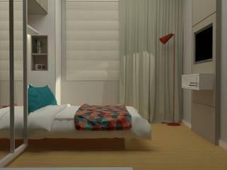 Modern Bedroom by .Villa arquitetura e algo mais Modern