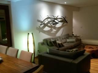 Sala de estar: Salas de estar  por Fernanda Bahia Arquitetura e interiores