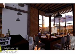 ARQUITECTO JUAN ANDRES GUTIERREZ PEREZ 餐廳